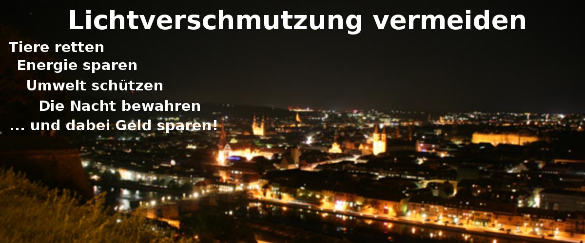 Petition gegen Lichtverschmutzung