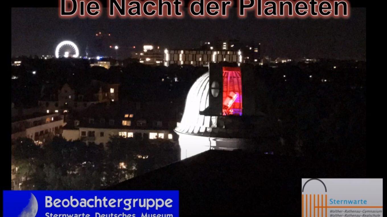 Die Nacht der Planeten