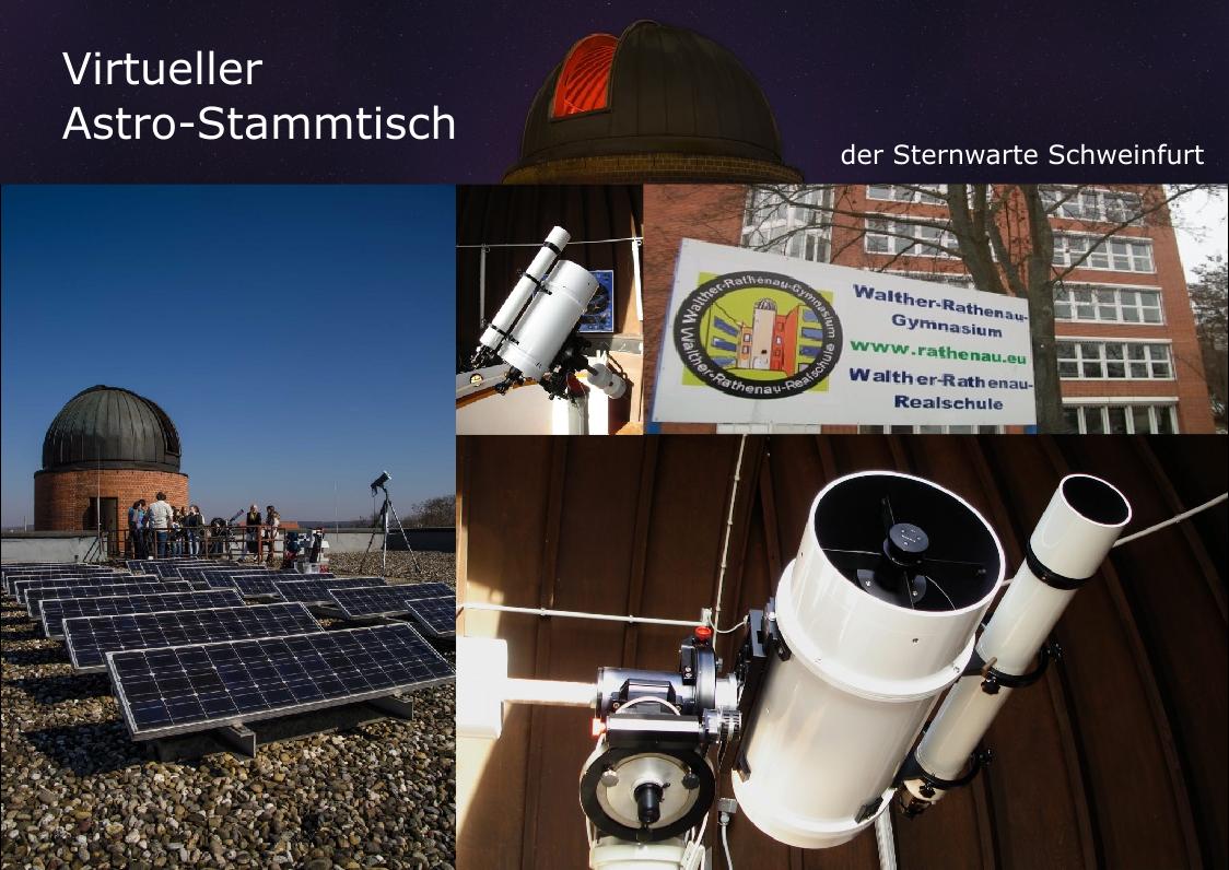 Virtueller Astro-Stammtisch der Sternwarte Schweinfurt