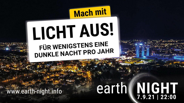 Earth Night 2021 am 7. September